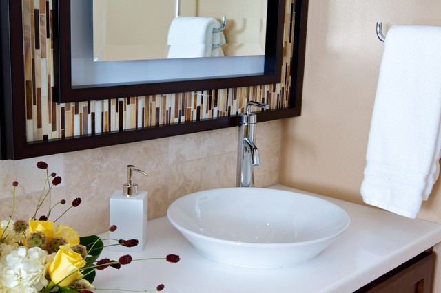 stylish bathroom mirror