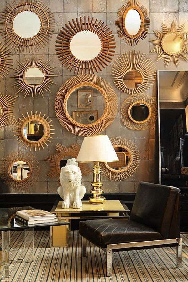 Decorate with mirrors beautiful ideas for home - Home decor wall mirrors collection ...