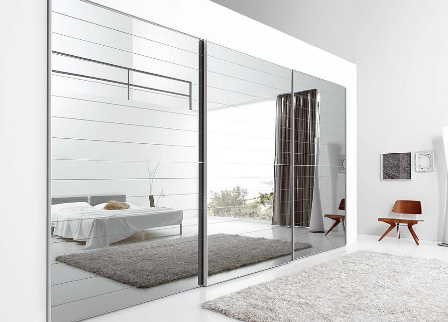 ultra modern dresser bedroom mirrors - Unique Mirror Ideas