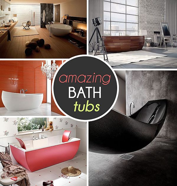 unique bathtub design ideas