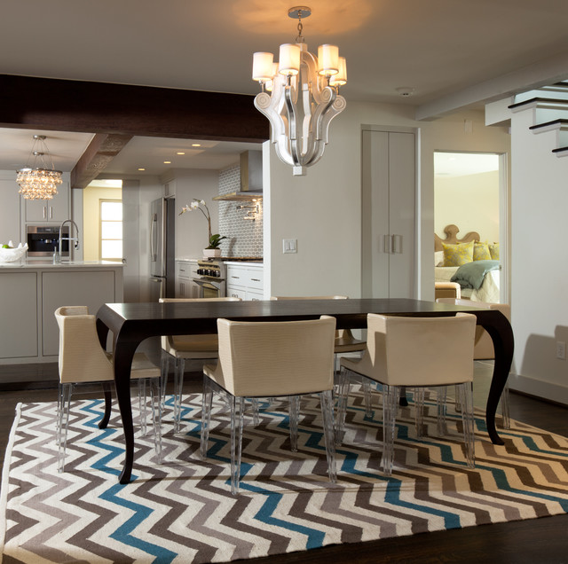 View In Gallery Zig Zag Contemporary Chevron Rug