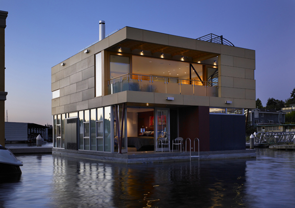 Nomad Homes what we need and what youll get View In Gallery Lake Union Floating Home