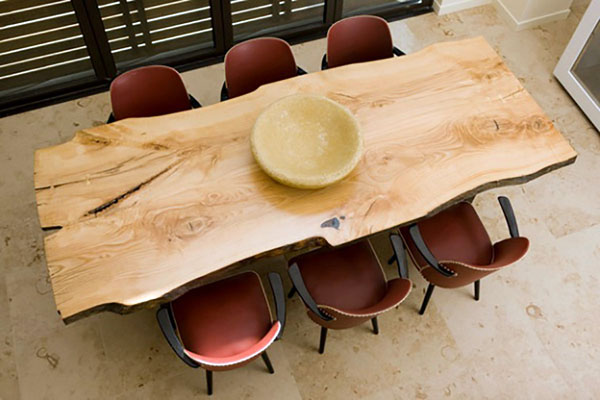 If You Want A Piece Of Wood Like This, You Can Probably Acquire It For Your  Table. You Will Have To Find A Specialty Lumber Yard In Your Area, ...