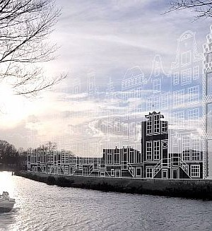 3d printed house in amsterdam