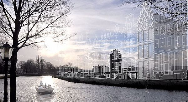 Futuristic 3D Printed House Takes Shape Next To Amsterdam's Famous Canals