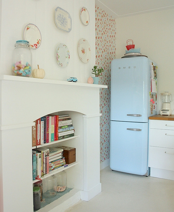 50s Retro Freezer is quickly becoming a popular addition even in modern kitchens
