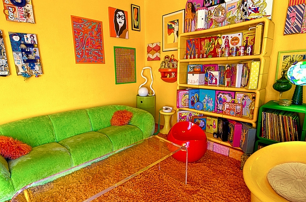 Retro living room ideas and decor inspirations for the for Interior design 70s style