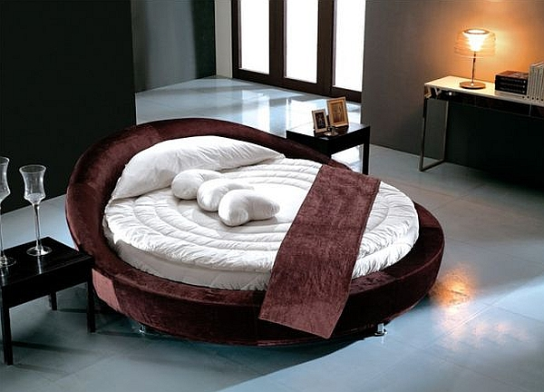 View in gallery Add a touch of romance to the bedroom with the round bed   NIK Bedroom Design 2014