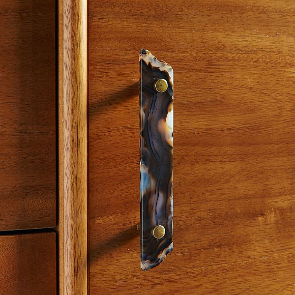 Agate cabinet handle