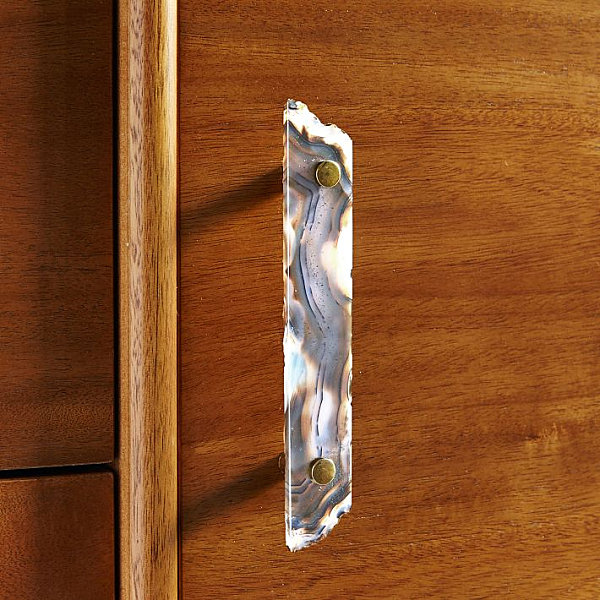 Agate handles with striking bands