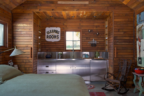 Small cabin decorating ideas and inspiration - Interior pictures of small log cabins ...