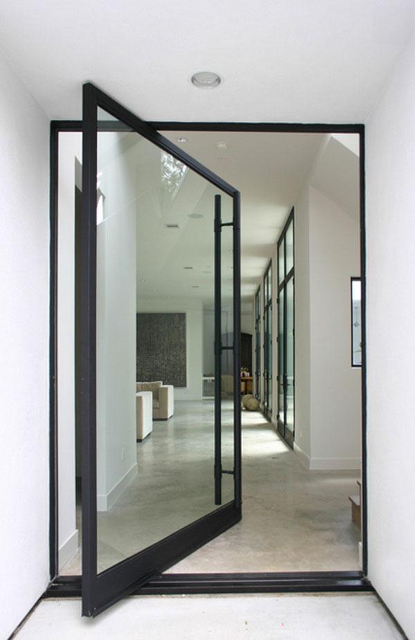 Entrance decorating door designs pictures for Pivot home designs