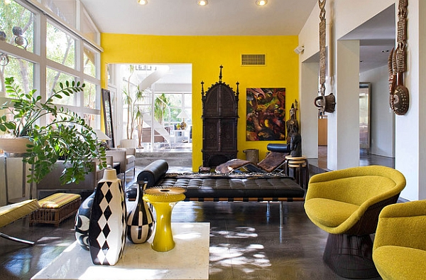 African inspired interior design ideas for Interieur kleurencombinaties