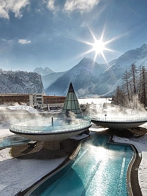 Aqua Dome Thermal Resort in Austria