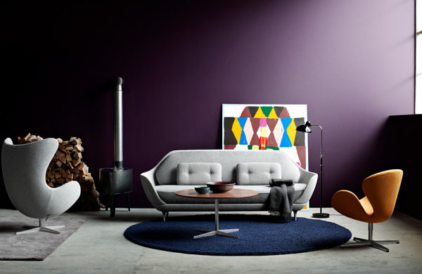 Artistic accent wall