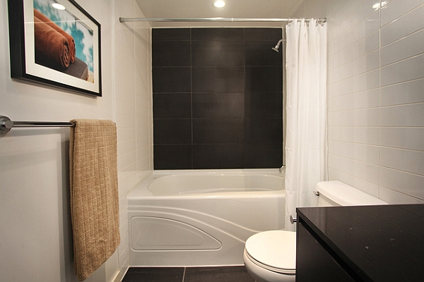 View In Gallery Bathtub And Shower Combo For Small Bathrooms