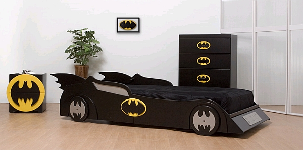 Batman themed Boys Bedroom
