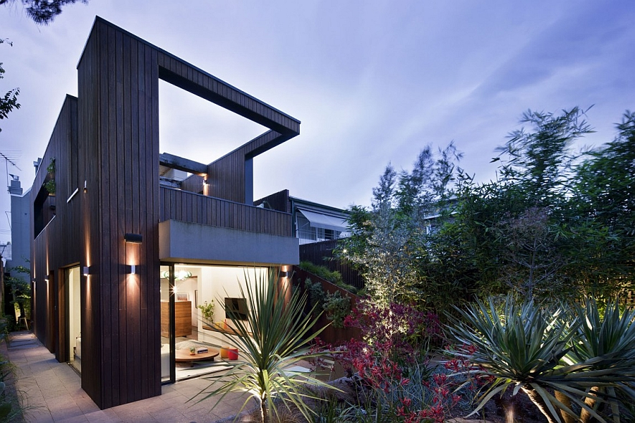 Beautifully illuminated Fitzroy House