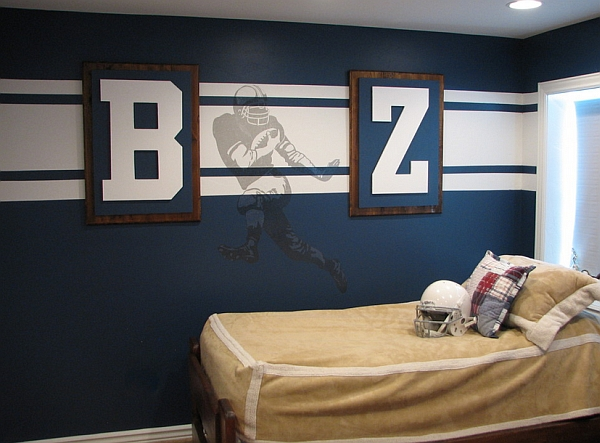 wall murals decals sports themed interiors