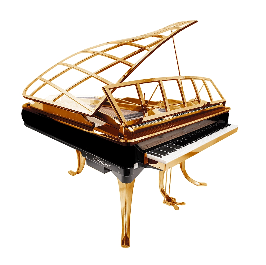 Bring home the PH Grand Piano in Gold this winter!
