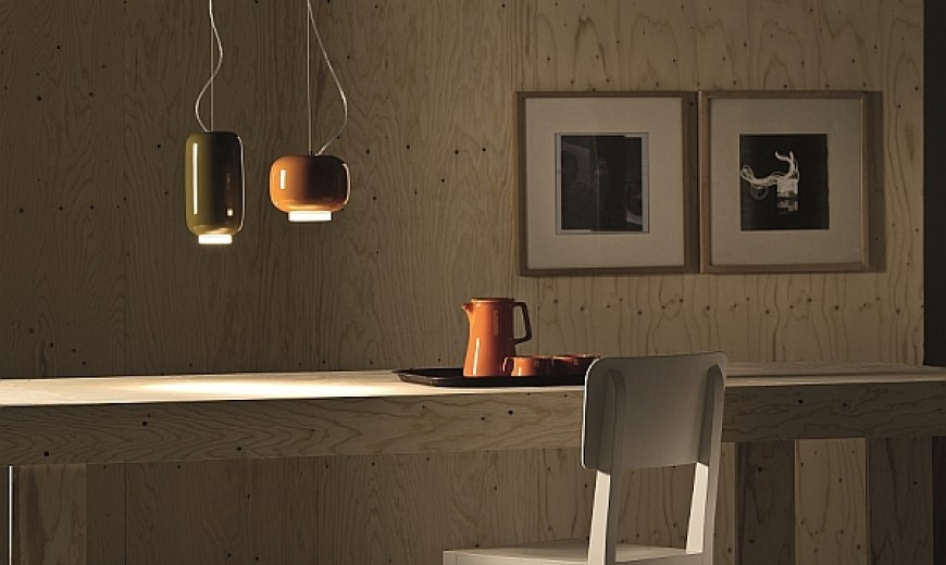 Chouchin Mini: Cool Suspension Lamp From Foscarini