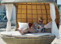 Create Your Own Exclusive Cabana With The Comfy Cocoon Beach Daybed