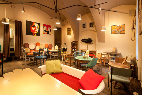 Colaj Cafe Brasov Transylvania by Manuel Teicu 1 Eclectic Coffee Shop Design in the Heart of Transylvania: Colaj Café