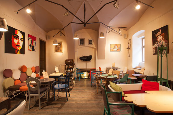 Colaj Cafe Brasov Transylvania by Manuel Teicu 2 Eclectic Coffee Shop Design in the Heart of Transylvania: Colaj Café