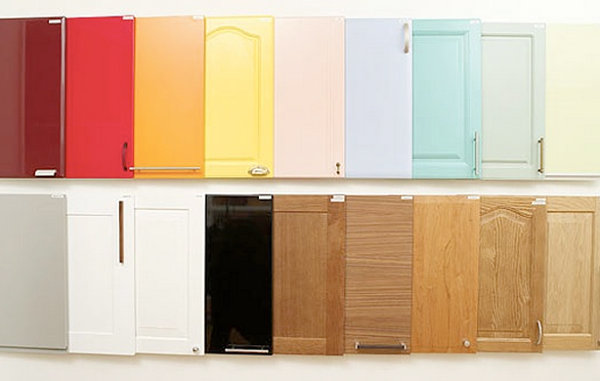 Colorful cabinet options