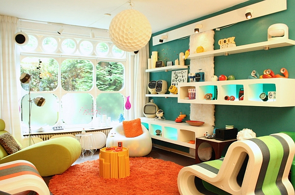 Retro Interior retro living room ideas and decor inspirations for the modern home