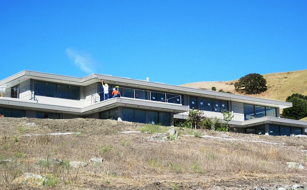 Construction of the Mt Diablo Residence - Steel Home