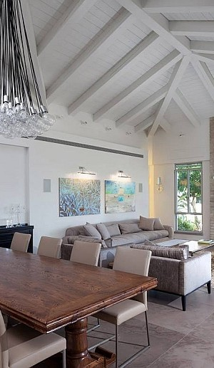 Contemporary Israel Villa with Cool Country Style