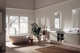 Contemporary Minimalist Bathroom Aquo