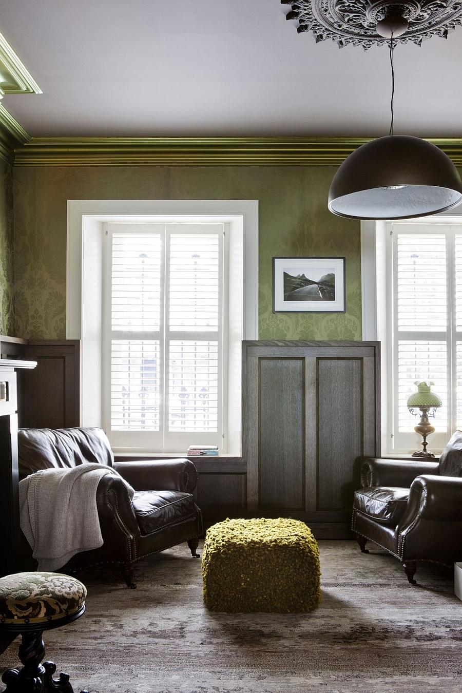 Cozy room with plush decor