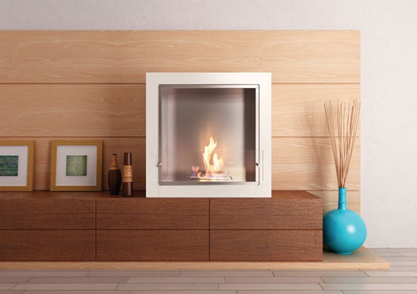 Cube Jr. Fireplace