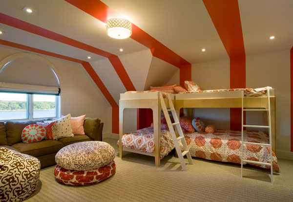 David Howell Design Growing Up With The Kids In Style: Bunk Beds for Him and Her