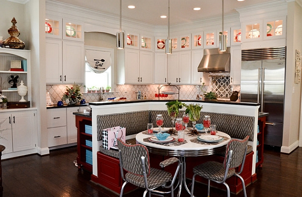 Retro kitchens that spice up your home for Some kitchen designs