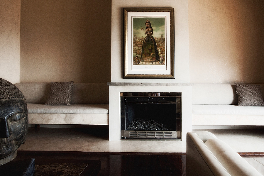 Display art work gracefully around the house
