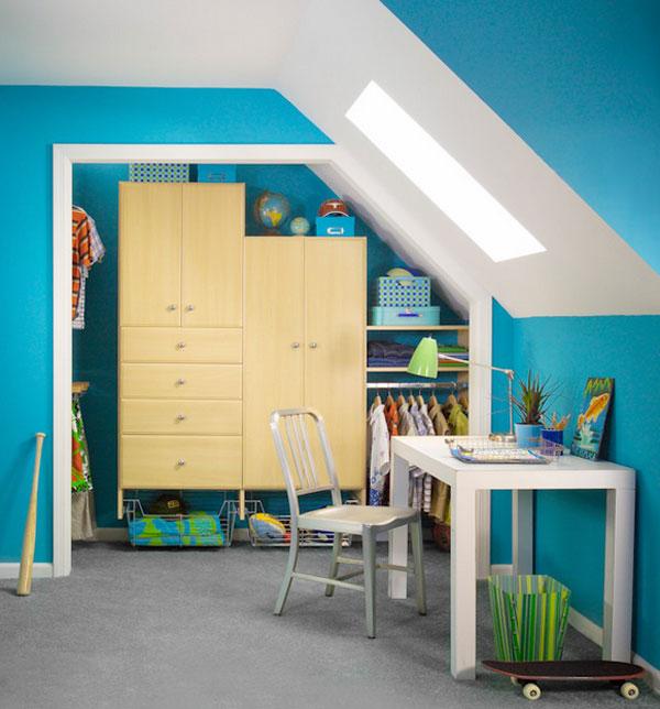 Attic Closet Design Ideas: Attractive Closets Your Kids Will Love