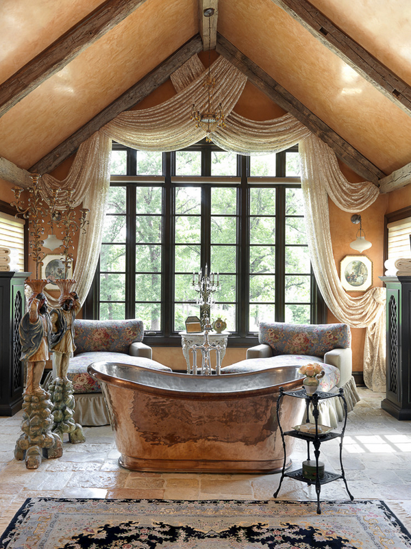 Edwin Pepper Design For The Romantic: Bathtubs In The Bedroom