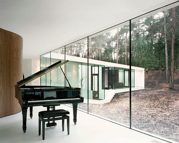21 Fabulous Modern Homes Showcasing Elegant Pianos - photo#39