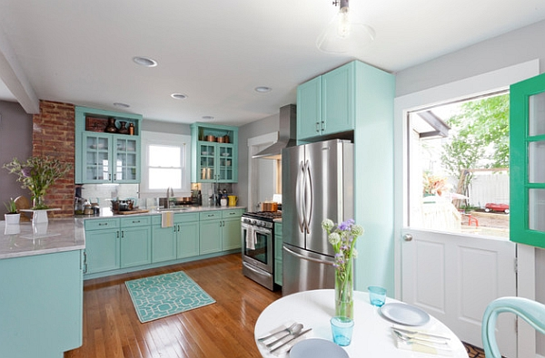 Retro kitchens that spice up your home for 1930s home design ideas