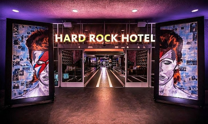 Let The Good Times Roll At the Dazzling Hard Rock Hotel In Palm Springs!