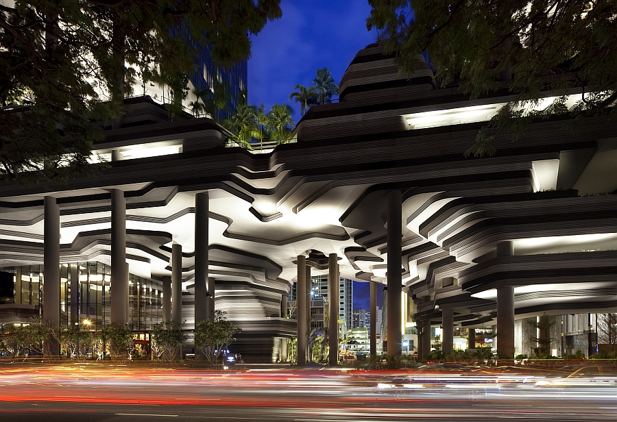 Exceptional architecture of the PARKROYAL on Pickering