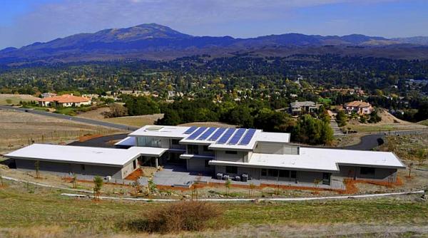 Expansive 10,300 sq ft steel prefab home