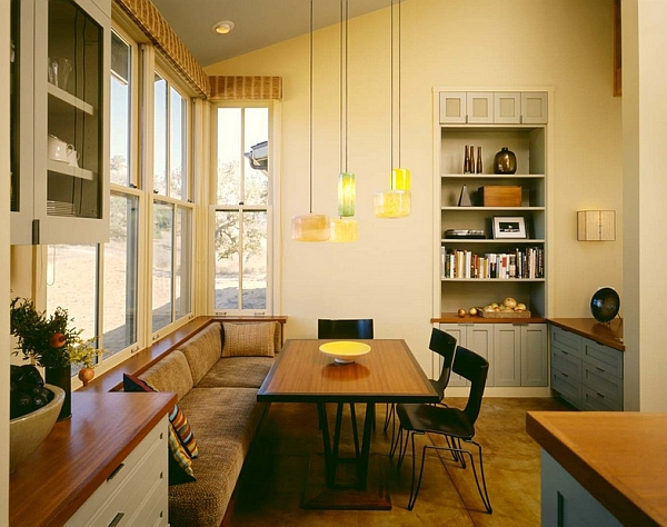 Exquisite dining area next to the kitchen