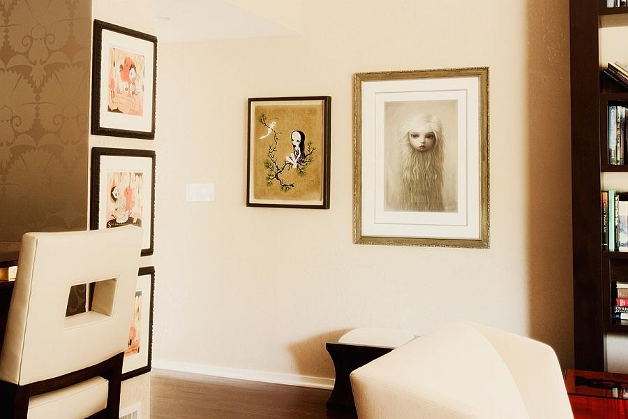 Framed artwork for those who enjoy varied styles