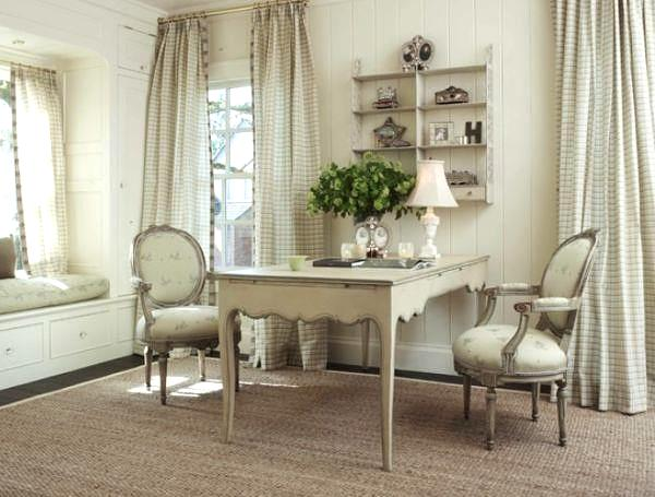 French country dining area