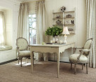French country seating area