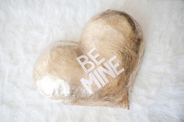 Gilded heart